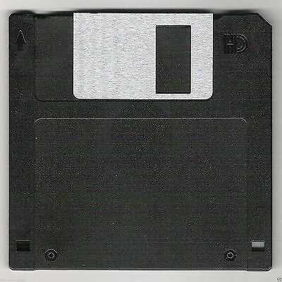 Sony 44 MFD-2HD Micro Floppy Disk IBM Formatted