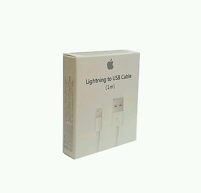 100% Genuine Apple Usb Cable For iPhone 5 5s 6 6s (Fast Charge)