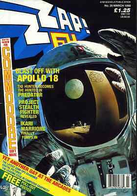 ZZAP 64 magazine COMMODORE 64 AMIGA ALL 107 ISSUES! DVD in pdf format 80s games