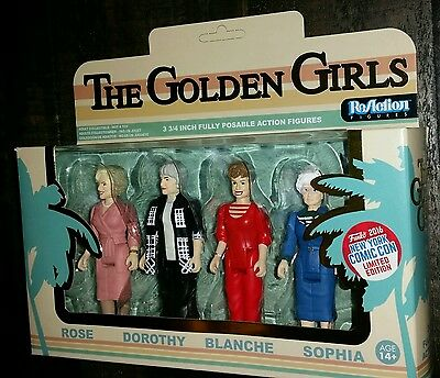 Funko ReAction NYCC Golden Girls 4 pack