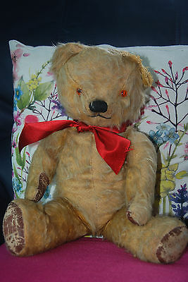 Vintage Antique Old Teddy Bear Chad Valley