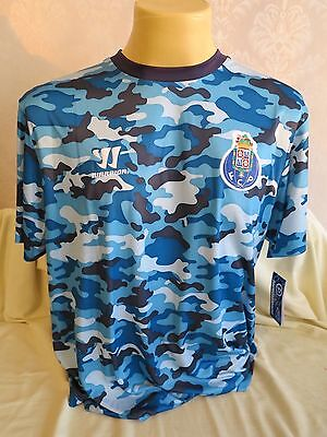 Fc Porto Football Shirt Training 2014 2015 Warrior Xxl 2Xl Rare New Blue