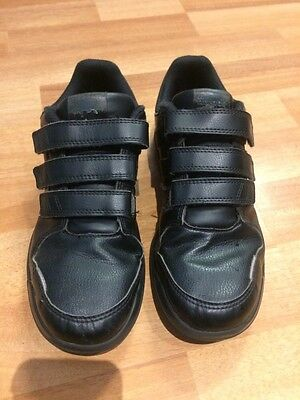 Black Adidas Trainers Size 3
