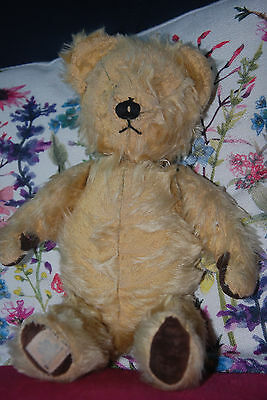 Vintage Antique Old Teddy Bear Chad Valley - in need of tlc!!
