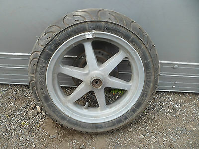 Grimeca scooter front wheel with 110/70 x 12 tyre