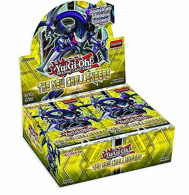 The New Challengers 24 Booster Display Box (Unsealed Yu-Gi-Oh!)