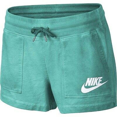 Nike Women's Solstice Shorts Color Rio Teal Size Small