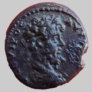 SEPTIME SEVERE, SEPTIMIUS SEVERUS, Bithynie en 193-211, AE 14 mm, Temple, 3,36 g
