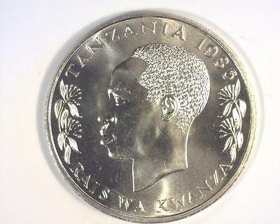 Tazania 1986 One Hundred Shilling Km18 Gem Brilliant Uncirculated ~ 350183-O