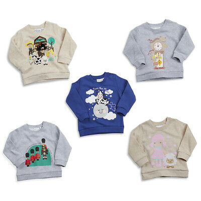 Baby Babies New Long Sleeve Sweatshirt Jumper Nursery Rhymes Toddler By BABYTOWN