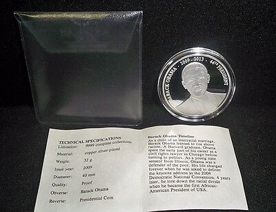 "AMERICAN MINT ""Barack Obama"" Presidential COIN with COA"