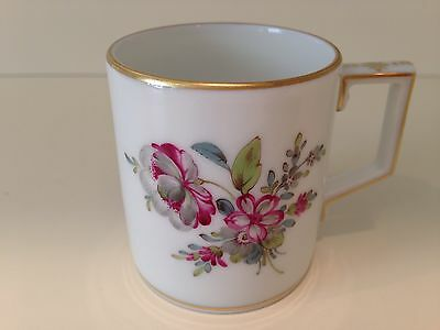 Hochst Hand-Painted Porcelain Floral Espresso Cup #2 Made in Germany New
