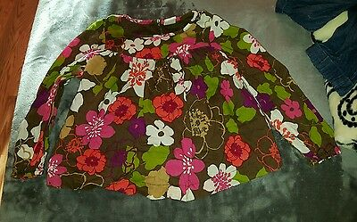 Old Navy Girls 4T Long Sleeve Floral Shirt