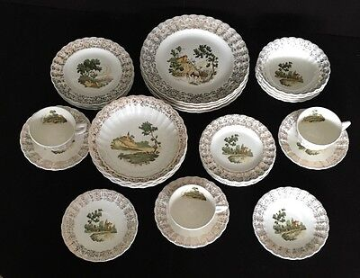 American Limoges Chateau France Set Of 28pcs $468.73 Value