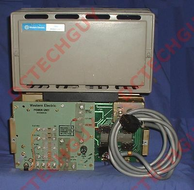 (MZ) WESTERN ELECTRIC 79B2 POWER UNIT SD-81824-01 20C2 & MOUNTING PLATE FastShip
