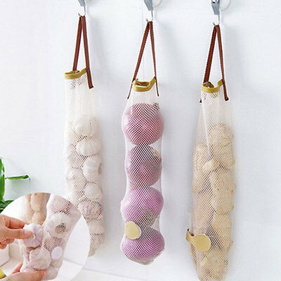 Creative Furnishing Hollow Breathable Hanging Storage Bag Garlic Onion