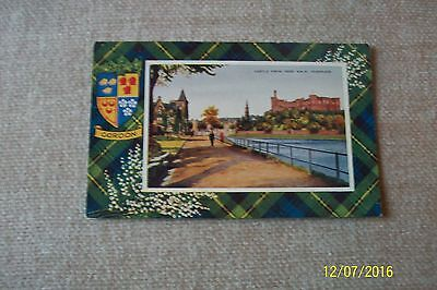 Postcard-- Castle From Ness Walk, Inverness