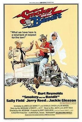 Smokey and the Bandit Movie POSTER 27 x 40 Burt Reynolds Sally Field A,LICENSED
