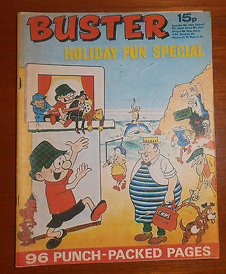 BUSTER Comic HOLIDAY FUN SPECIAL 1971