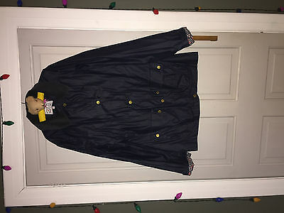 Marks & Spencers Girls Barbour Style Wax Jacket