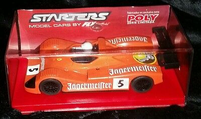 Fly Slot Starters Scalextric 87004 Porsche Joest Jagermeister Special Edition
