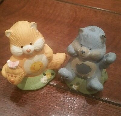 "Care Bears Figurine Designers Collection American Greetings 1984 2"" Ceramic"