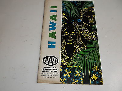 Hawaii AAA 1959 American Automobile Association Guide, Maps, Dine, Stay, ads