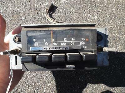 71-73 Ford Mustang AM FM Radio 1971 1972 1973