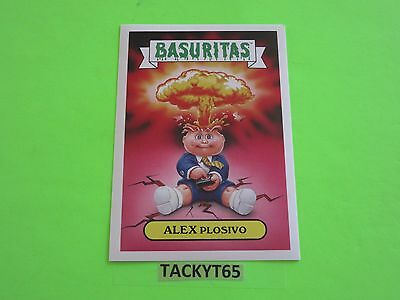2015 GARBAGE PAIL KIDS COMIC CON FOREIGN LEGION SET  5x7 10 STICKERS