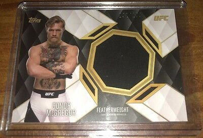 2016 Topps UFC Top Of The Class Relic Conor McGregor 192/199