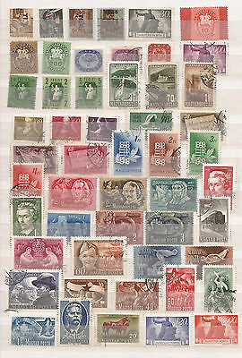 Hungary - Huge  Lot  - Collection  Of 418  Stamps - See The 9 Images
