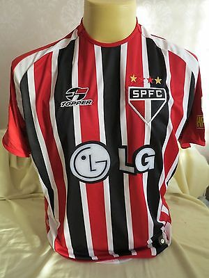 Sao Paulo Football Shirt Away 2004 Player Issue 2 S.smith Xl Rare Topper