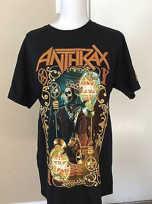 Anthrax 2016 North American Tour T-shirt Size Medium