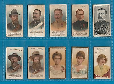 10 very early Cigarette cards tobacco inserts Taddy etc RARE *** #020