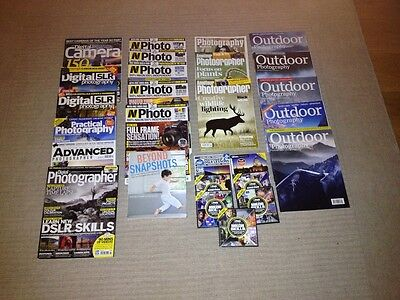 Photography magazines, CD's and Book