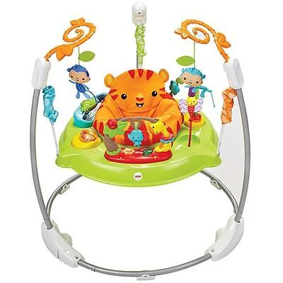Fisher-Price Roarin' Rainforest Jumperoo, Baby Bouncer With Sounds & Lights
