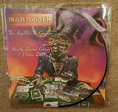 "Iron Maiden 'the Angel And The Gambler' 7"" Picture Disc Vinyl Single"