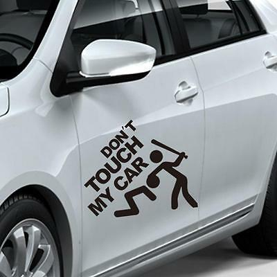 Don't Touch My Car Vinyl Decal JDM Stickers Bumper Window Graphic Car Stickers