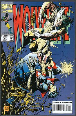 US Comics, Wolverine #81, May 1994