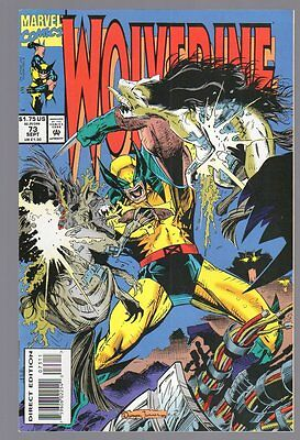 US Comics, Wolverine # 73, Sept 1993