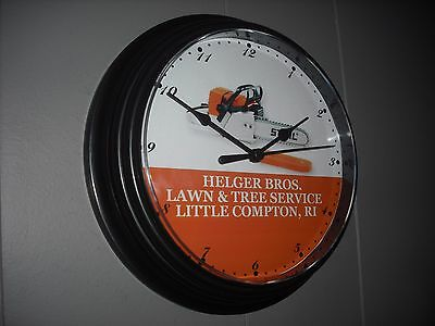 Personalized Stihl Chainsaw Dealer Arborist Wall Clock FREE SHIPPING