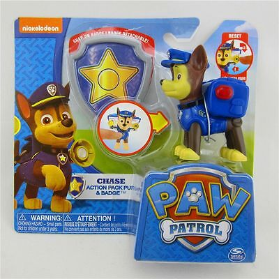 Paw Patrol Action Pack Pup Deformation dog backpack projectile toys chase