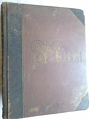 Antique 1888 scrapbook