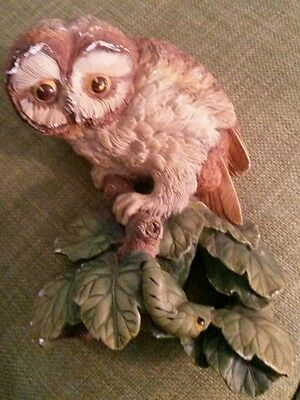 Bossons England Wall Plaque Owlet 1965