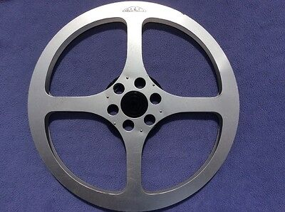 + Mega Rarity Professional Eiki 2000ft 16mm Metal Reel - Early Example +