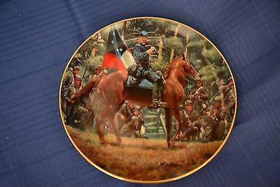 """Collector Horse Plate """"there Stand Jackson Like A Stone Wall"""""""