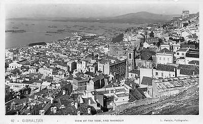 Gibraltar View of the Town and Harbour, Port, Panorama