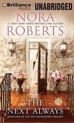 THE NEXT ALWAYS unabridged audio book on CD by NORA ROBERTS