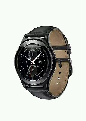 Samsung Gear S2 Classic Smart Watch SM-R7320 Bluetooth Ver - Black