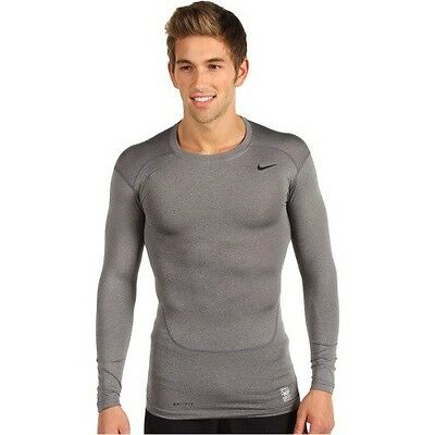 New NIKE MEN'S PRO COMBAT LONG SLEEVE COMPRESSION SHIRT/TOP/base layer/training